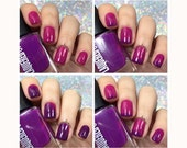 Purple People Eater//Thermal Color Changing Nail Polish//Cruelty Free