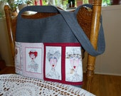 Nurse Purse Shoulder Bag or Cross Body Tote