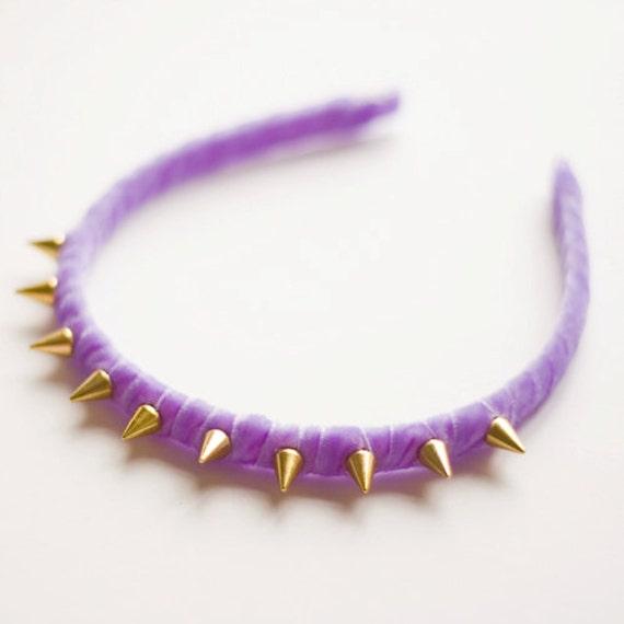 Gold Spike Headband