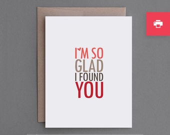 """Funny Printable DIY Card. Anniversary, Valentine. Personalize. Customize. Husband, Wife, Boyfriend, Girlfriend. """"You Not Jesus"""" (PCL01)"""