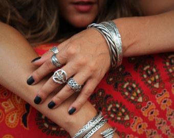 Bohemian Jewelry, Boho Ring, Boho Chic Ring, Bohemian Fashion Trend, Peace Sign Jewelry, Bohemian Ring, Trending Handmade Bohemian Jewelry