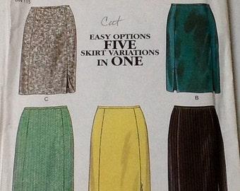 New Look Skirt Pattern. size 8-18,  Pattern cut