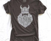 Viking Wooden Beard - Mens crew-neck