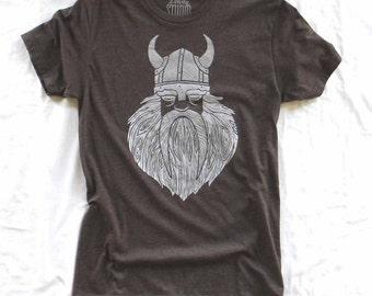 Viking Wooden Beard - Mens crew-neck