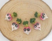 Fantasy vegetables with faces - TURNIP
