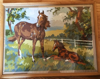 Paint by Number Signed 1968