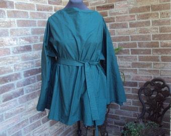 Green short gown, biblical costume, huntsman, Halloween costume, Design your own costume robin hood, peter pan