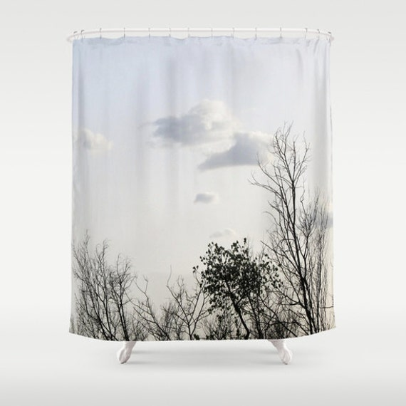 Trees Shower Curtain, Bathroom, Tree Home Decor, Naturel Photo Shower Curtain, Whimsical Shower Curtain, Mysterious Shower Curtain, Branches