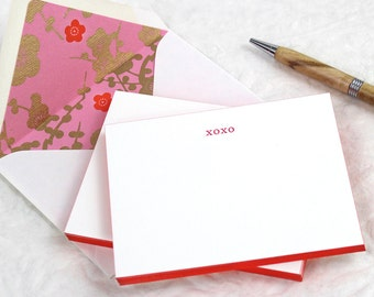 xoxo Fancy Pants - Letterpress Notecards