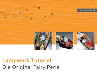 Lampwork Tutorial // Original Fairy Perle // Glasperlen Selber Machen // Von Melanie Moertel