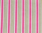 Riley Blake Fabric, Songbird Cotton Fabric, 1/2 YD Quilters Cotton, Pink White Green Fabric Destash