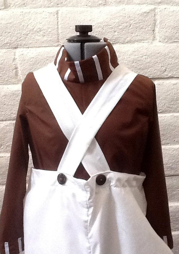 Oompa Loompa Willie Wonka Charlie and the Chocolate Factory Costume Child's sizes