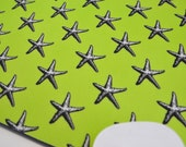 Buy 2 FREE SHIPPING Special!!   Mouse Pad, Computer Mouse Pad, Fabric Mousepad      Starfish