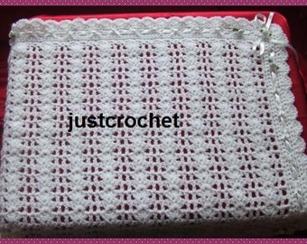 Shawl Baby Crochet Pattern (DOWNLOAD) 10