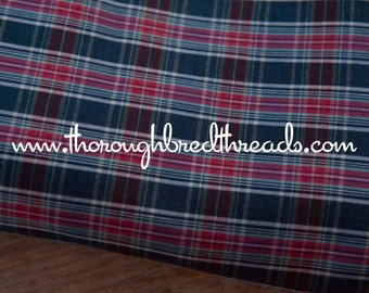 Mad About Plaid - Vintage Fabric Multi-Colored Checked Classic Preppy Tartan