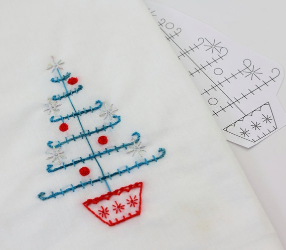 Embroidery Design Scandinavian Art Christmas Embroidery Norwegian Pattern Swedish Design Nordic Hand Embroidery Design
