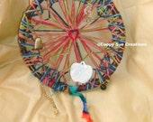 String art mediation mandala dream catcher inspired weird fine art hanging themed art