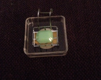 Miniature Doll House Vintage Wire Soap Dish Hanging Claw Foot Tub