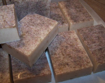 Earth PATCHOULI Hippie Hemp Handcrafted Shea Butter Soap Earthsong