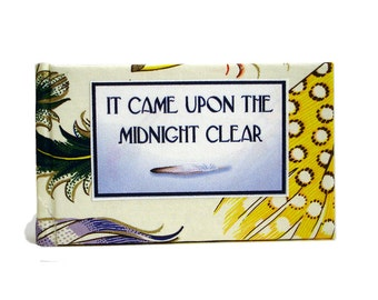 It Came Upon The Midnight Clear  -  Miniature Book