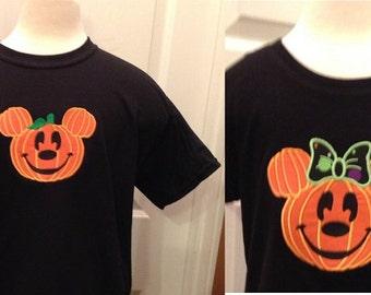 Disney Halloween NSSHP Adult One Mickey or Minnie T-shirt