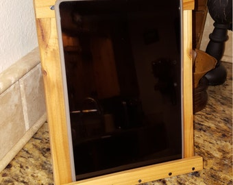 Hand-Crafted Kitchen Tablet Stand