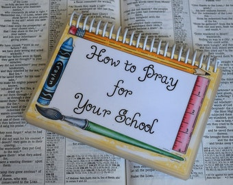 How to Pray for Your School, Spiral-Bound, Laminated Prayer Cards