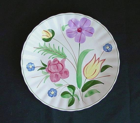 Photos At Garden Ridge Pottery: Items Similar To Blue Ridge Pottery GARDEN LANE 9.25