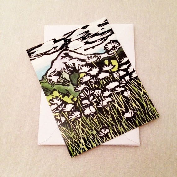 Mount Hood Set of 6 Note Cards