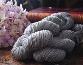 YAK & YETI - SW Merino, Yak and Silk Fingering Weight Undyed Sock Yarn Yarn - 400 yards approx.