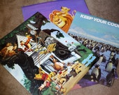 90's Posters - Disney, The Lion King, Winnie The Pooh, Penguins