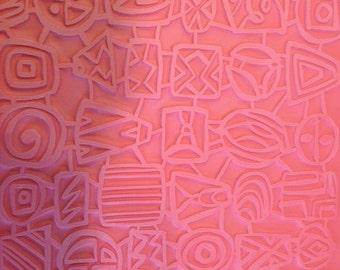 Quirky  Texture mat