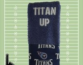 Tennessee Titans towel, Tennessee Titans golf towel, embroidered