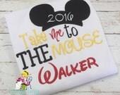 Disney shirt ~ Take Me to the Mouse ~ Mickey shirt ~ First Disney shirt ~ Disney vacation shirt ~ boys mickey shirt