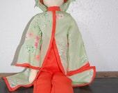 Handmade Vintage Cloth Doll
