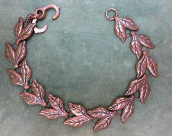 A Vintage Copper Bracelet