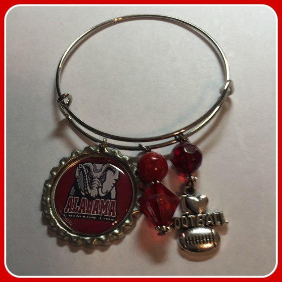 Alabama Charm Bracelet: Alabama Crimson Tide Charm Bracelet Alex And By