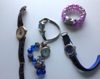 Five watches