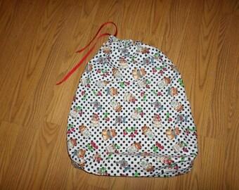 Fabric Gift Bag + gift card -- 001