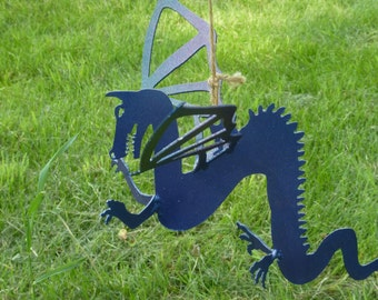 Hanging Metal Dragon