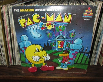 The Amazing Adventure of Pac-Man Vintage Vinyl Record