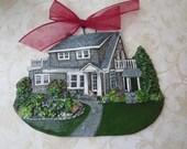 Custom listing ehumph00- one Custom House Ornament- a cherished keepsake of your home