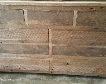 YOUR Custom Rustic Barn Wood Dresser with 9 Drawers and Free Shipping