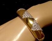 SWAROVSKI S.A.L. crystal Bracelet signed and Vintage Bride