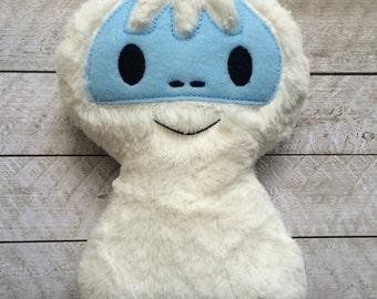 Plush Yetti Abominable Snowman Bumble Stuffed Toy