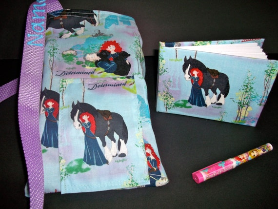 Disney Pixar BRAVE autograph book bag with book bag and pen Personalization is FREE Adjustable strap