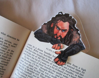 The Hobbit Thorin Oakenshield clip over bookmark