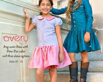 Avery Dress Sewing Pattern Sizes 2T-10 Modkid Sewing Patten