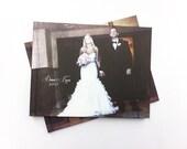 11.5x15 inch Custom Photo Digital Photo Finish Wedding Album