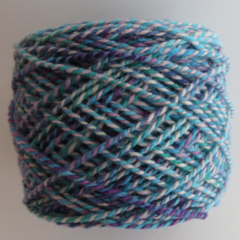Babydoll Southdown Yarn Hand Dyed 2 Ply Worsted Wt